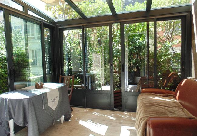 Favori Spécialiste de la veranda et verriere en milieu urbain XM03